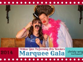 Marquee Gala Photo Booth