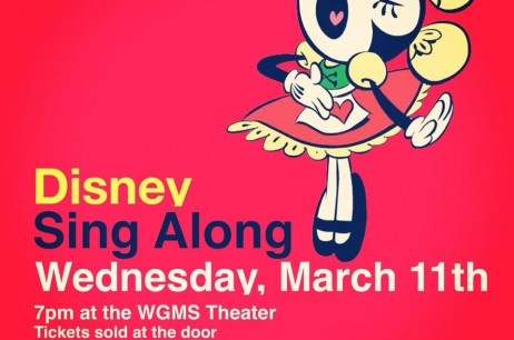 Disney Sing Along – March 11, 2015