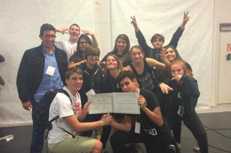 HS Advanced Drama class 24-hr challenge 2015