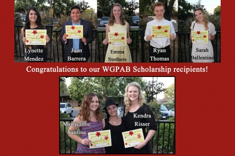 2015 WGPAB Scholarship Winners